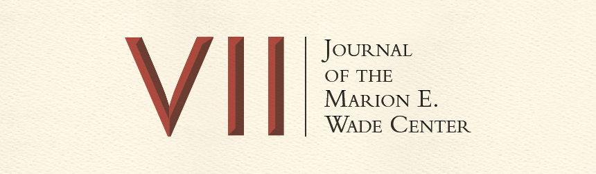 Seven: Journal of the Marion E. Wade Center