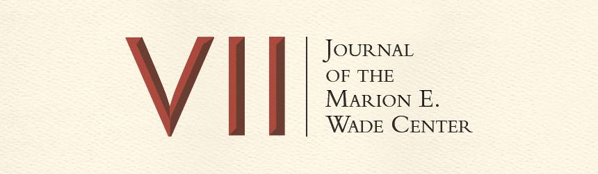 Seven: Journal of the Marion E. Wade Center
